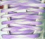 SolarActive® Color Changing Plaid Shoe Laces: White to Pink