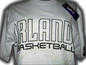 NBA Tee Shirts (indoors) orlando
