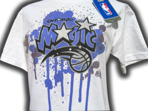 NBA Tee Shirts(outdoors) Orlando B Ball