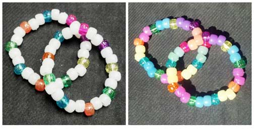 Color Changing UV Beads Pony Style