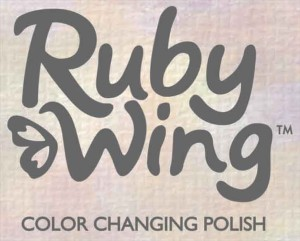 Ruby Wing Color Change Polish Logo