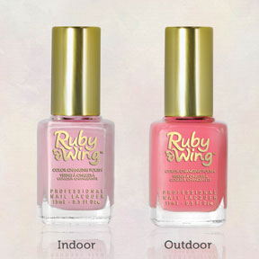 Ruby Wing sweetrose uv color_change nail polish double webquality