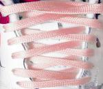 SolarActive® Color Changing Flat Shoe Laces: Pink to Magenta