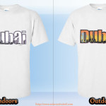 dubai color change t-shirt