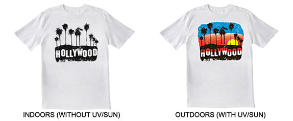Hollywood shirt in out