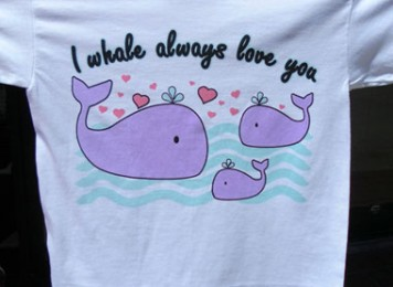 I whale always love you outdoors
