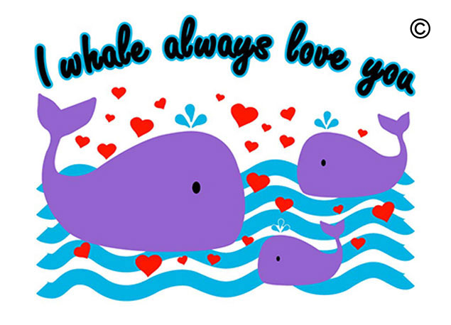 I Whale Always Love You Color Change Shirt